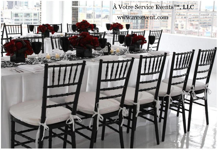 red and black centerpieces for weddings