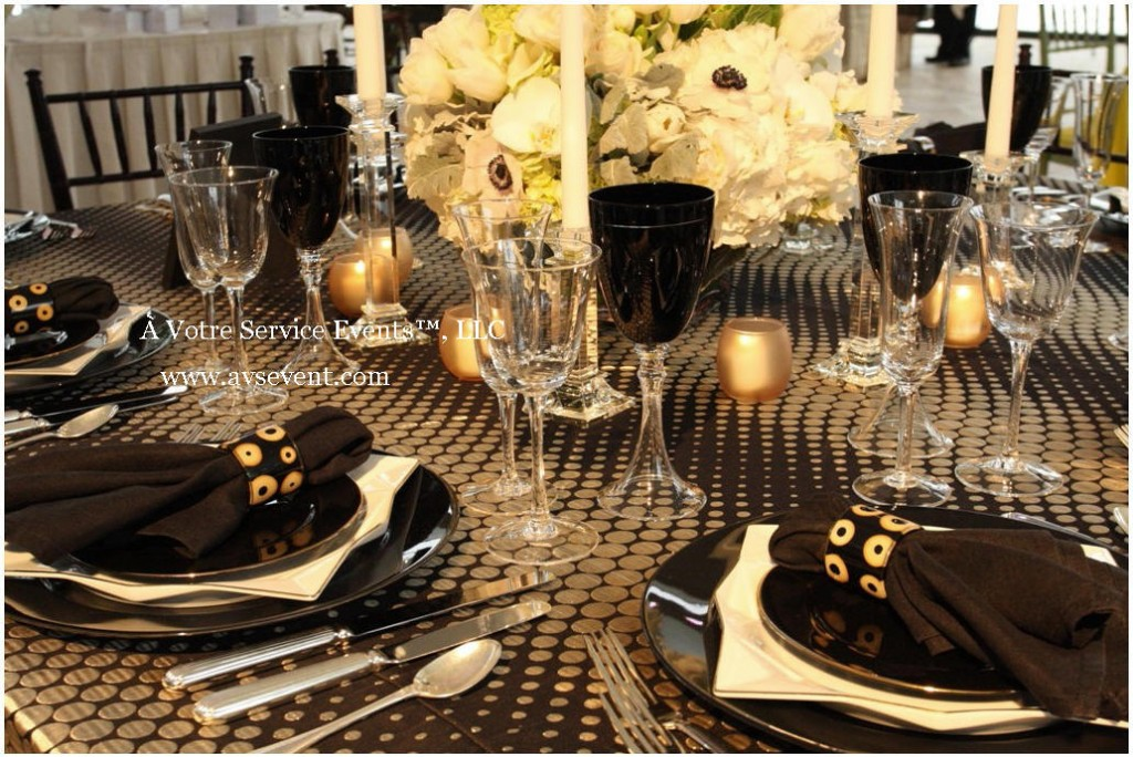 Your Winter Wedding Table Setting » À Votre Service Events blog-NJ ...