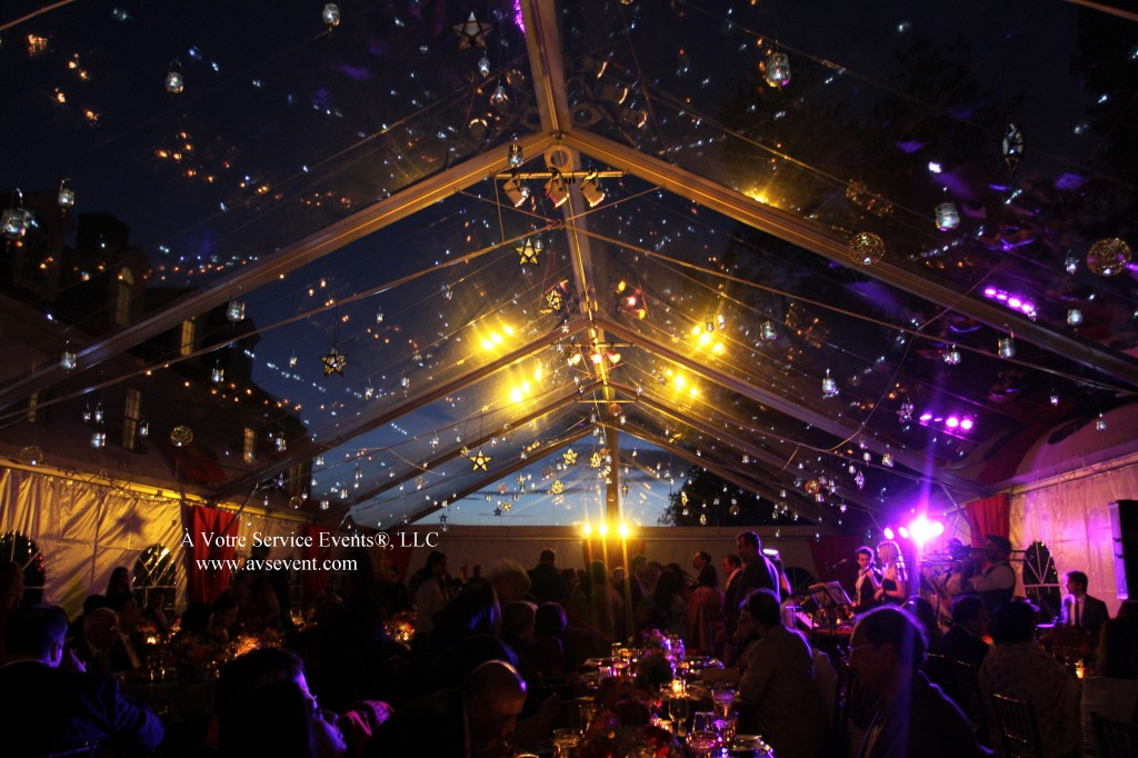 Clear top tent wedding & AVS Events Real Weddings: Priya and Arup » À Votre Service Events ...