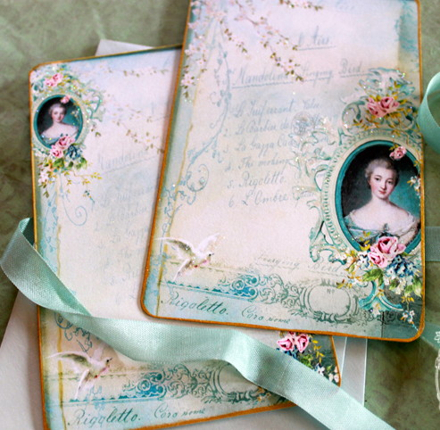 Madame de Pompadour invitation