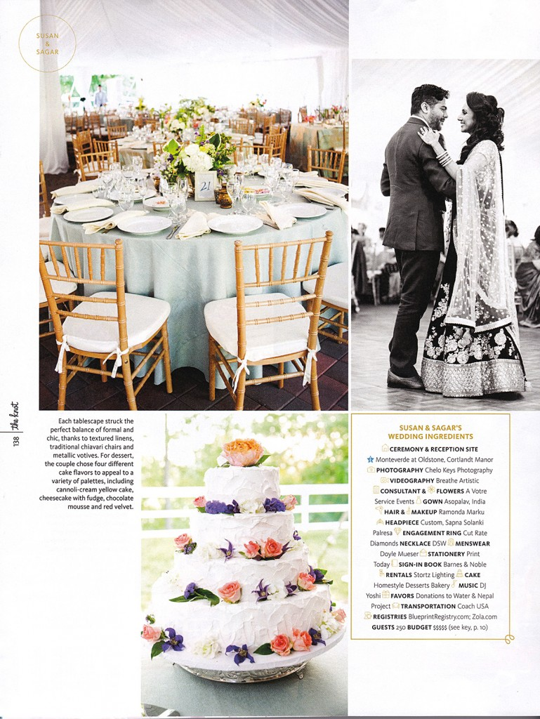the knot real wedding spring 2016 issue