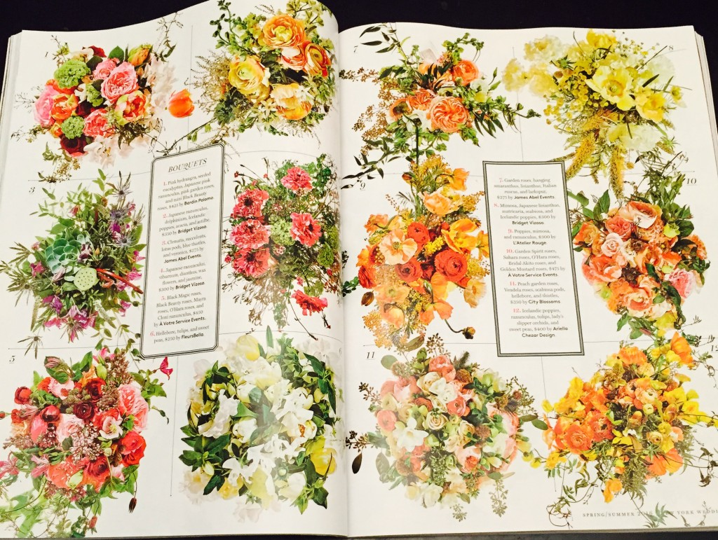 a votre service events in New York Magazine Weddings