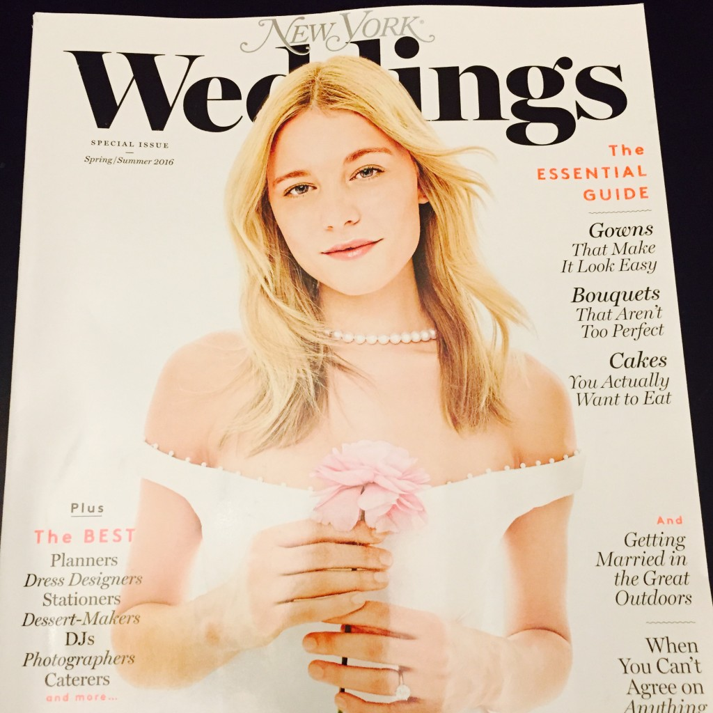 New York Magazine Weddings Spring-Summer Issue 2016
