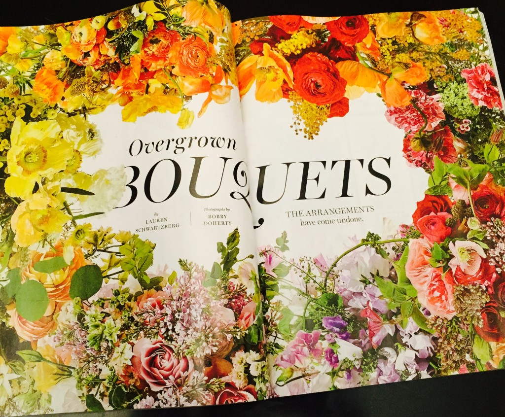 Overgrown Bouquets NY Mag Weddings 2016
